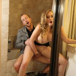 Kagney Linn Karter in Madison's house