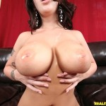 Melina Mason uses her curves almighty