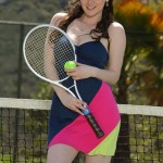 Tessa Lane fucks after a tennis game
