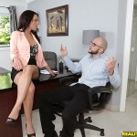 J Love hardcore scene in office